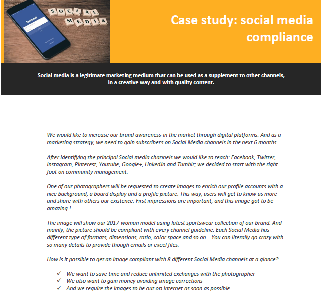 How Veriflies can help to publish content on social media channels.