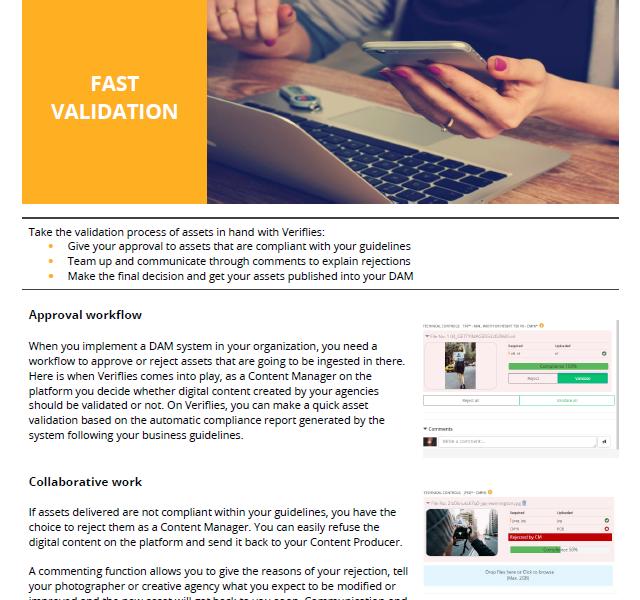 Automatic asset validation